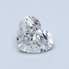 Recommended Stone #3: 0,83-Carat Heart Cut Diamond