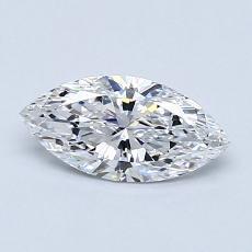 0.62-Carat Marquise Diamond Very Good D IF