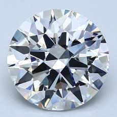 Recommended Stone #3: 3,14-Carat Round Cut
