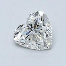 Recommended Stone #4: 0.84-Carat Heart Cut Diamond