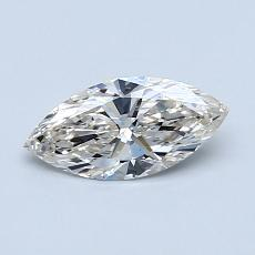 Recommended Stone #3: 0.50-Carat Marquise Cut Diamond