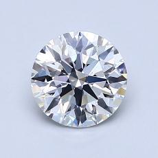 1.10-Carat Round Diamond Ideal D VS1
