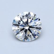 Recommended Stone #3: 0.82-Carat Round Cut Diamond