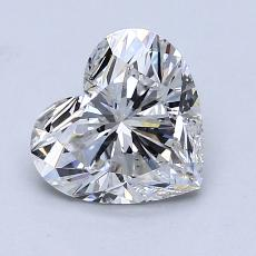 Recommended Stone #3: 1,29-Carat Heart Cut Diamond