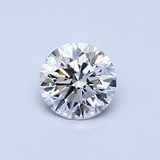 0.56 Carat 圓形 Diamond 理想 E VS1