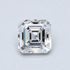 Recommended Stone #1: 0.73-Carat Asscher Cut Diamond