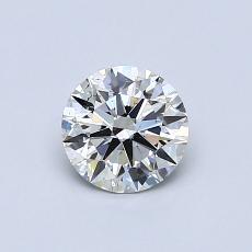 推薦鑽石 #1: 0.64 克拉圓形切割鑽石