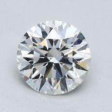 1.01 Carat 圆形 Diamond 理想 F VS2