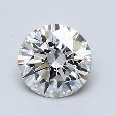 1.01 Carat 圓形 Diamond 理想 I SI1