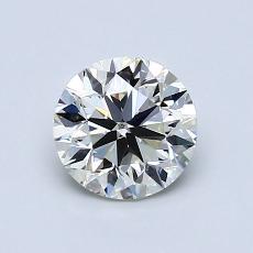 0.90-Carat Round Diamond Very Good K SI1