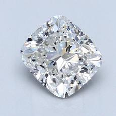 推荐宝石 1:1.70 克拉垫形钻石