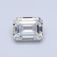 推薦鑽石 #4: 0.75  克拉綠寶石形切割鑽石