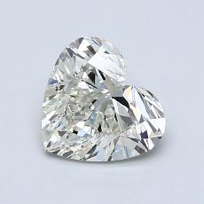 Recommended Stone #2: 1.05-Carat Heart Cut Diamond