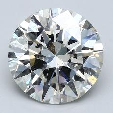 Recommended Stone #4: 3.63-Carat Round Cut