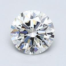 Target Stone: 1.90-Carat Round Cut Diamond
