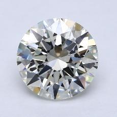 Pierre recommandée n°3: Diamant taille ronde 5,06 carat