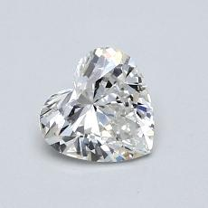 Recommended Stone #3: 0.63-Carat Heart Cut Diamond