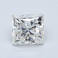 1,08 Carat Princesse Diamond Idéale Astor G VVS2