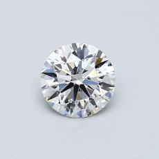 0,50 Carat Rond Diamond Idéale J SI2