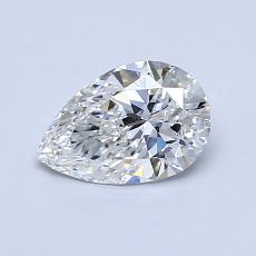 Recommended Stone #2: 0,70-Carat Pear Cut Diamond