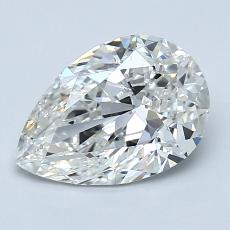 Recommended Stone #1: 1.52-Carat Pear Cut Diamond