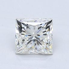Recommended Stone #3: 1.02-Carat Princess Cut Diamond