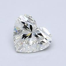 1,01-Carat Heart Diamond Very Good I SI1