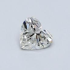 Recommended Stone #1: 0.51-Carat Heart Cut Diamond