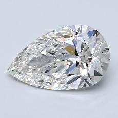 1,20-Carat Pear Diamond Very Good G VS2