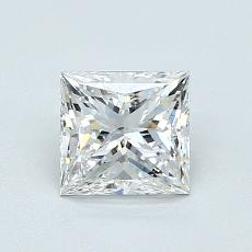 Target Stone: 1.01-Carat Princess Cut Diamond