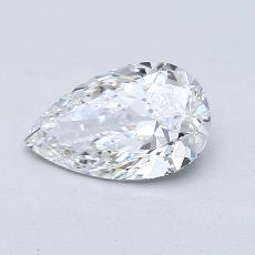 1.56-Carat Pear Diamond Very Good E VS2