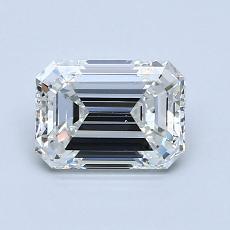 1.00 Carat 绿宝石 Diamond 非常好 F VS1