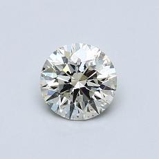 0.52 Carat 圓形 Diamond 理想 K SI2