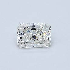 Recommended Stone #2: 0.45-Carat Radiant Cut Diamond