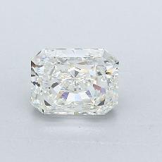 Pierre recommandée n°2: Diamant taille radiant 1,00 carats