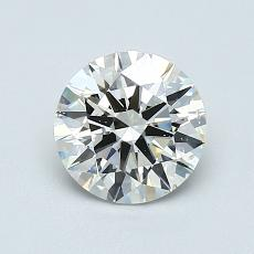 Recommended Stone #1: 1,01-Carat Round Cut