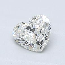 Recommended Stone #4: 0.90-Carat Heart Cut Diamond