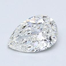0.93-Carat Pear Diamond Very Good F VS1