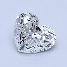 Recommended Stone #1: 1,01-Carat Heart Cut Diamond