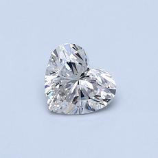 Recommended Stone #4: 0.40-Carat Heart Cut Diamond