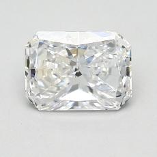 1.00-Carat Radiant Diamond Very Good D SI1