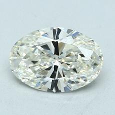 1.01-Carat Oval Diamond Very Good K VVS2