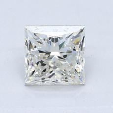 1.00-Carat Princess Diamond Good K VVS2
