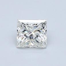 Recommended Stone #3: 0.70-Carat Princess Cut Diamond