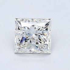 推薦鑽石 #3: 0.90  克拉公主方形鑽石