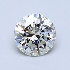 1,01-Carat Round Diamond Ideal K SI2