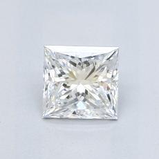 0.73-Carat Princess Diamond Very Good E VVS1