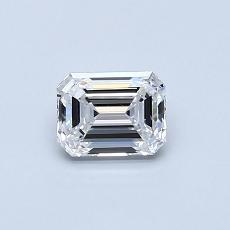 推荐宝石 3:0.55 克拉祖母绿切割钻石