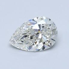 推薦鑽石 #4: 0.80 克拉梨形鑽石