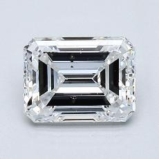 Recommended Stone #3: 1.21-Carat Emerald Cut Diamond